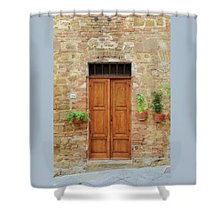 Italy - Door Six Shower Curtain