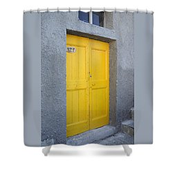 Italy - Door Three Shower Curtain