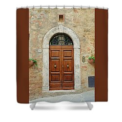 Italy - Door Twelve Shower Curtain