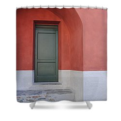 Italy - Door Two Shower Curtain