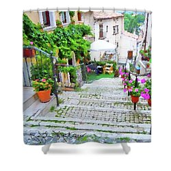Italy In The Spring  Shower Curtain