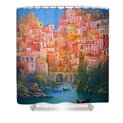 Impressions Of Italy   Shower Curtain