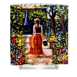 It's A Beautiful Day.. Shower Curtain by Cristina Mihailescu