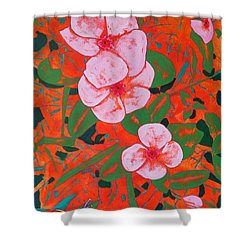 It's A Big World Shower Curtain