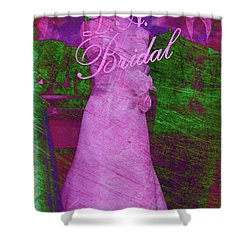 Its A Choice You Make Shower Curtain by Susanne Van Hulst