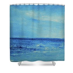 It's A New Day Shower Curtain by Jane See