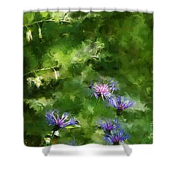 It's A Still Life I Want To Color Shower Curtain by David Lane