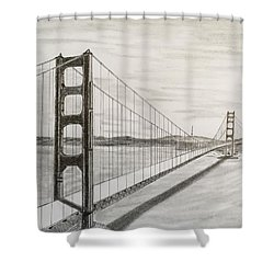 It's All About Perspective  Shower Curtain