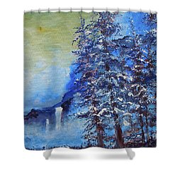 It's Cold Out Shower Curtain