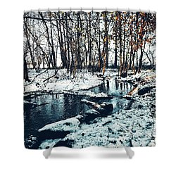 It's Cold Outside Shower Curtain
