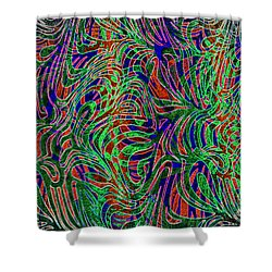It's Complicated Shower Curtain by Nareeta Martin