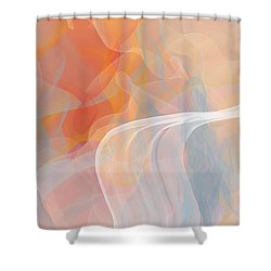 It's Five O'clock On A Friday Shower Curtain by Constance Krejci