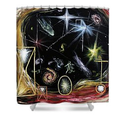 It's Full Of Stars  Shower Curtain by Ryan Demaree