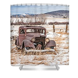 It's Getting Harder To Hold Things Together Shower Curtain by Sue Smith