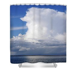It's Raining In Canada Shower Curtain