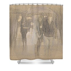It's Raining In Georgia Shower Curtain by Angela A Stanton