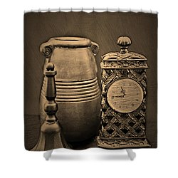 It's Time For... Shower Curtain by Sherry Hallemeier