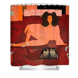 It's Your Move Shower Curtain
