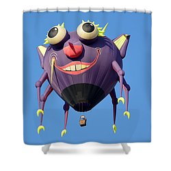 Shower Curtain featuring the photograph Itzy Bitzy Spider by AJ Schibig
