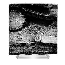 Ivan Caterpillar Track Shower Curtain