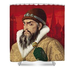 Ivan The Terrible Shower Curtain by English School