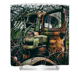 I've Created A Monster  Shower Curtain by Off The Beaten Path Photography - Andrew Alexander