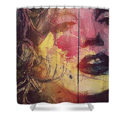 Shower Curtain featuring the painting I've Seen That Movie Too by Paul Lovering