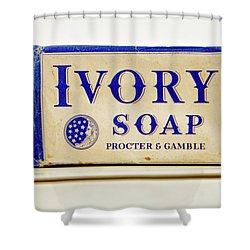 Ivory Soap Shower Curtain