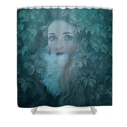 IVY Shower Curtain by Agnieszka Mlicka
