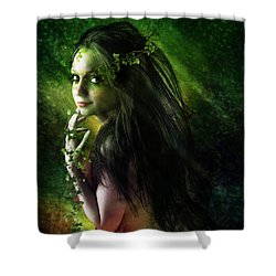 Ivy Shower Curtain by Mary Hood