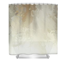 Ix - White Magic Shower Curtain