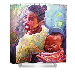 Iyaniwura  Shower Curtain
