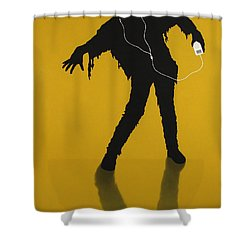 iZombie Shower Curtain by James W Johnson