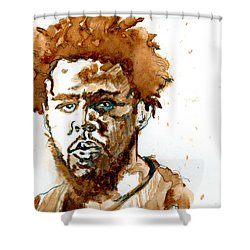 J Cole Shower Curtain