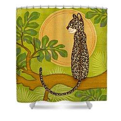 J Is For Jaguar Shower Curtain