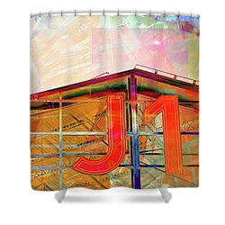 J1 Marseille, Hangar Shower Curtain