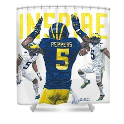 Jabrill Peppers Shower Curtain