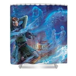 Jace's Origin Shower Curtain