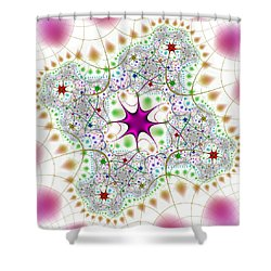Jacheracke Shower Curtain