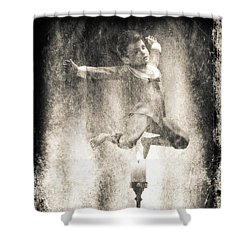 Jack Be Quick Shower Curtain by Bob Orsillo