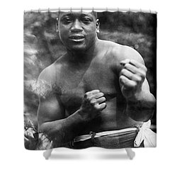 Jack Johnson (1878-1946) Shower Curtain by Granger