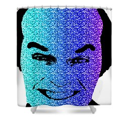 Jack Nicholson 1 Shower Curtain by Emme Pons