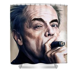 Jack Nicholson 2 Shower Curtain