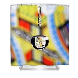 Jack Of Clubs Shower Curtain