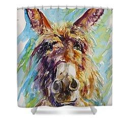 Jack Shower Curtain by P Maure Bausch