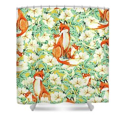 Jackals Shower Curtain