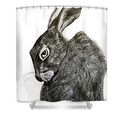 Jackrabbit Jock Shower Curtain