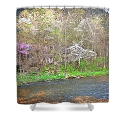 Shower Curtain featuring the photograph Jacks Fork 3 by Marty Koch