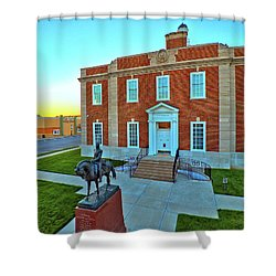 Jackson County Courthouse Shower Curtain by Dave Luebbert