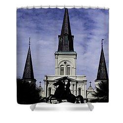 Jackson Square - Color Shower Curtain